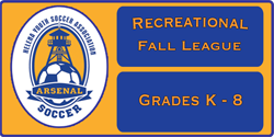 Fall Recreational Soccer - Registration is Open
