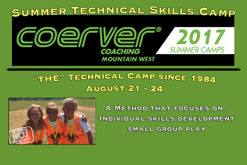 Coerver Summer Camp