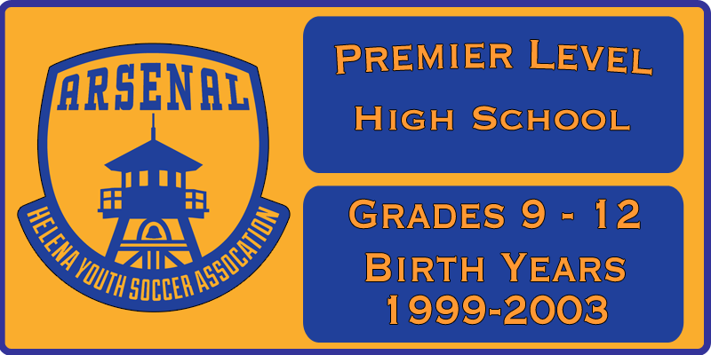 Premier Level High School Age Placement still open for HS Boys